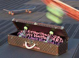 Louis vuitton skateboard @ aztronautz