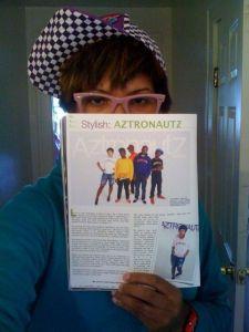 Fresh in Aztronautz Gear @ Aztronautz